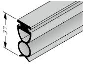 Joint de sol pour portes à portillon incorporé avec seuil
