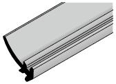 Joint de panneau affleurant pour portes, HG 058