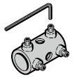 Accouplement pour tige de verrouillage TS 42 mm