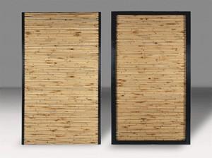 12B. Volet coulissant Mixte Alu/Bambou