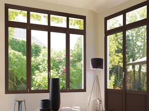 03B. Fenêtre ALU OUVRANT CACHE «CONTEMPORAIN»