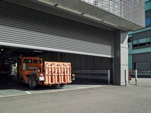 7a. Grille ENROULABLE industrielle