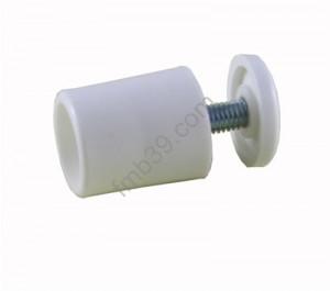Butée ronde 25mm BLANC
