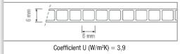 Polycarbonate alvéolaire - 6mm