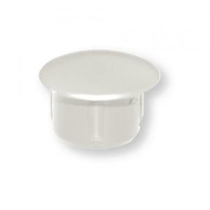 Sachet de 100 capuchons plastiques BLANC Diamètre 12 à clipser pour Alu et PVC