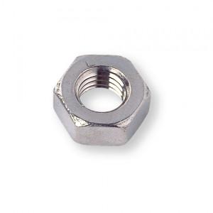 Ecrou hexagonal pas métrique DIN 934 M6x1 inox A2