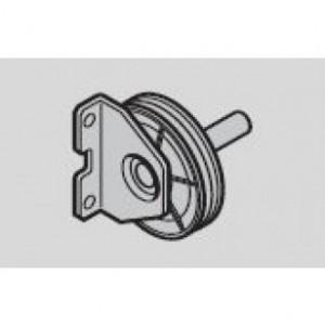 Hormann Equerre d'appui de renvoi de câble avec poulie ( ferrure Z )