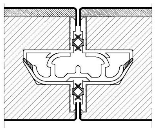 Profil de jonction PVC