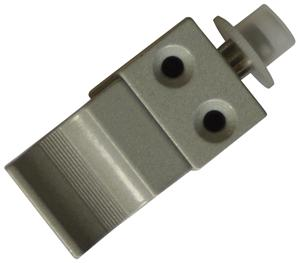 Verrou de condamnation pour coulissant aluminium de pêne 19,5mm
