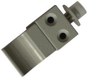 Verrou de condamnation pour coulissant aluminium de pêne 14,5mm