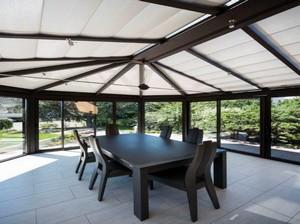 Store ANTI-CHALEUR pour toiture tubulaire